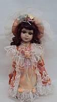 Кукла фарфоровая декоративная Лола высота 30см