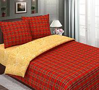 Ткань для постельного белья, бязь хлопок Шотландка