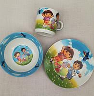 Посуда из керамики Даша следопыт