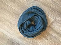 Женский Снуд шарф хомут шерстяной плотный(НОВИНКА)