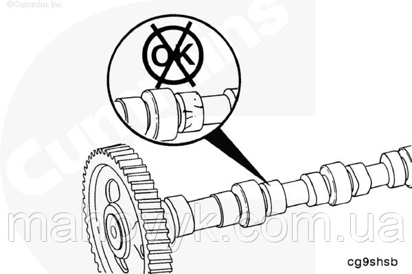 Снятие и установка распределительного вала двигателей