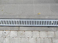 Водосточная чугунная решетка, фото 1