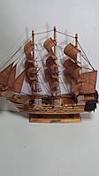 Парусник деревянный собранный 47*44 см