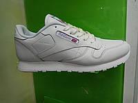 Женские кроссовки Reebok Classic Leather белые