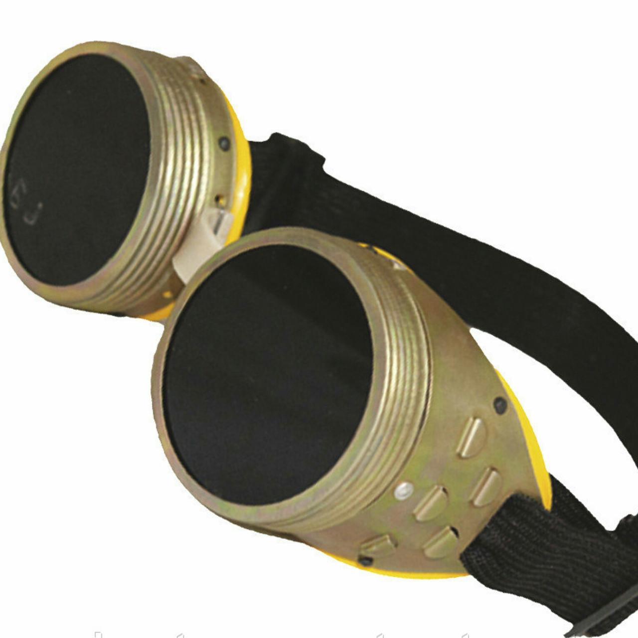 Очки сварщика ЗНР  (рыбка) металлические