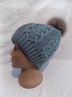 Детская шапка юниор на флисе зима оптом, фото 1