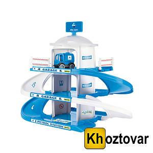 Детский гараж на 3 уровня Wader Aral 50420