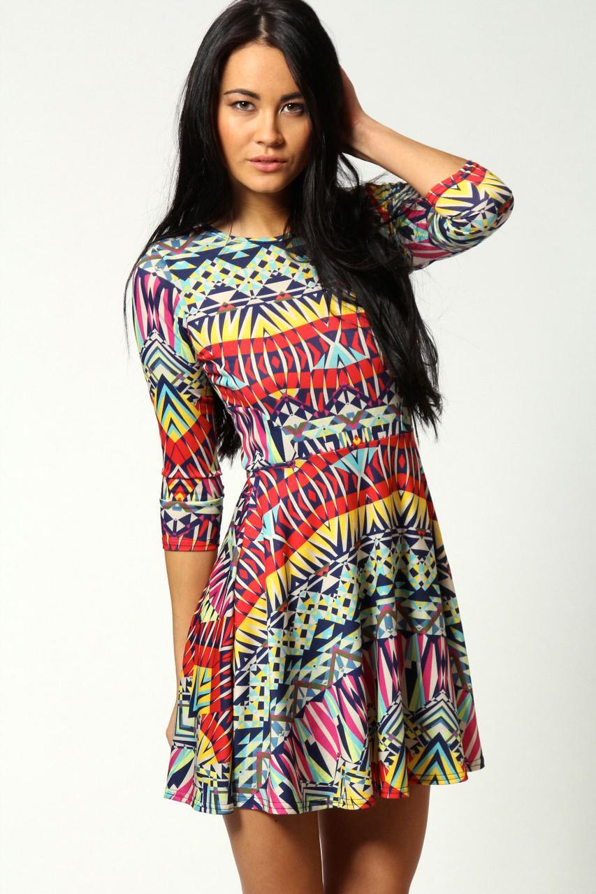 Новое платье в принт Boohoo
