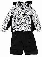 Детский комбинезон - комплект: куртка, брюки на подтяжках (3-8 лет)