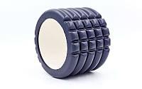 Ролик для йоги, пилатеса и фитнеса SMALL-EVA (черный)