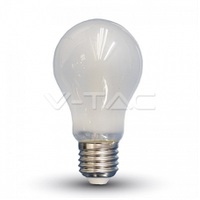 "Світлодіодна лампа V-TAC 6Вт филамент Е27 4000К A60 ""заморож"".скло"