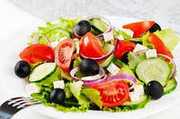 """Грецкий салат с сыром """"Фета"""""""