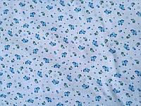 Ткань детская Фланель  арт. 107679 Б/З рис БАРАШИК МЕЛКИЙ 100%Х/Б ПЛ170 Ш 180СМ