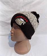 Детская шапка на флисе зима оптом