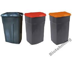 Бак для мусора 90 литров контейнер емкость от 2 шт. 100