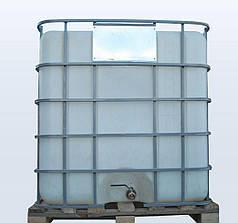 Емкость 1000 литров бак, бочка Еврокуб для транспортировки воды, КАС перевозки в решетке с краном