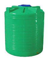 Емкость 1000 литров бак, бочка пищевая двухслойная вертикальная RVД З