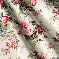 Ткань для штор с цветами Акция
