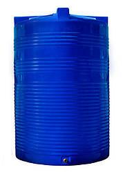 Бак, бочка 10000 литров емкость пищевая двухслойная вертикальная RVД