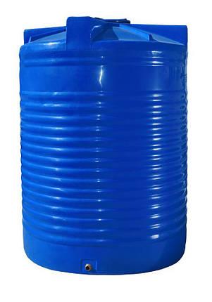 Бак, бочка 15000 литров емкость пищевая двухслойная вертикальная RVД, фото 2