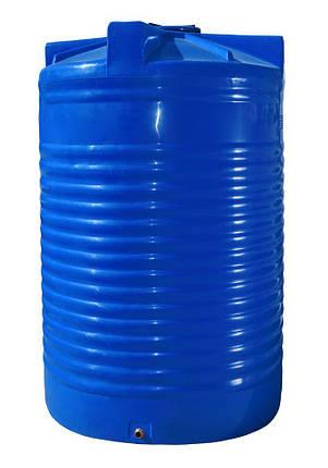 Бак, бочка 17500 литров емкость пищевая двухслойная вертикальная 17000 18000 RVД, фото 2