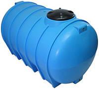 Бак, бочка 2000 литров емкость пищевая горизонтальная G