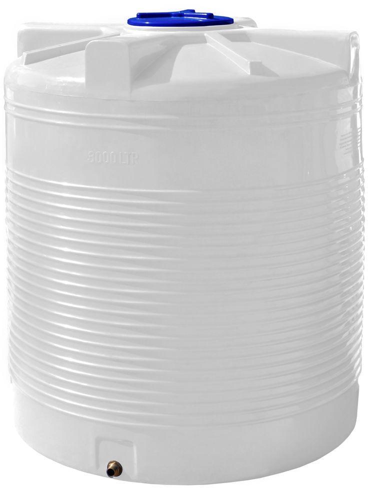 Бак, бочка 3000 литров емкость пищевая вертикальная RVО