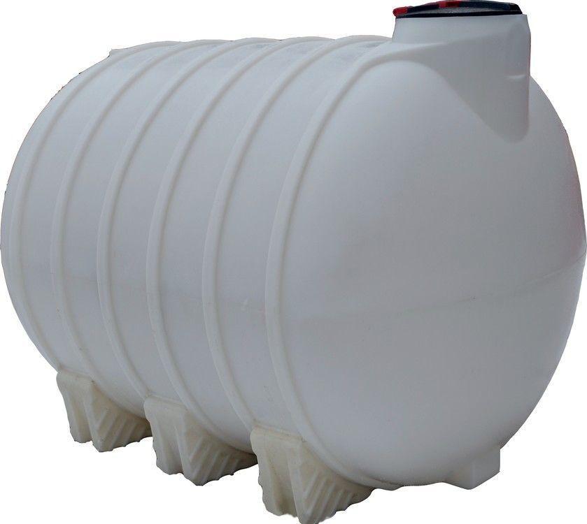 Бак, бочка 5000 л емкость усиленная для транспортировки воды, КАС перевозки без перегородок белая пищевая