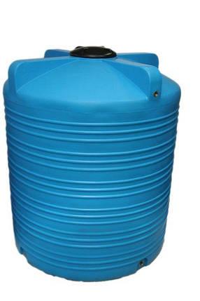 Бак, бочка 5000 литров емкость пищевая вертикальная V, фото 2