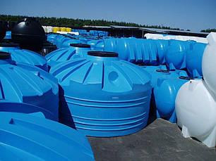Бак, бочка 5000 литров емкость пищевая широкая вертикальная V, фото 2