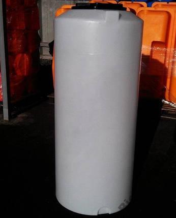 Бак, бочка з позначками рівня 470 літрів ємність харчова вертикальна 500 450 400 V, фото 2