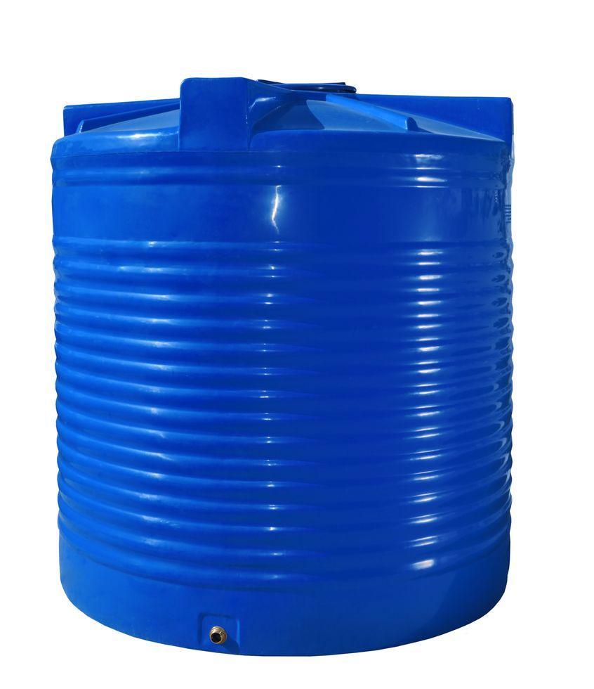 Бак, бочка 7500 литров емкость пищевая двухслойная вертикальная 7000 8000 RVД