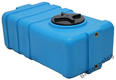 Бак, бочка, емкость 100 литров пищевая прямоугольная SG