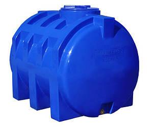 Емкость 1000 литров бак, бочка пищевая двухслойная горизонтальная RGД, фото 2