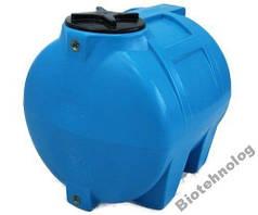 Бак, бочка, емкость 150 литров пищевая горизонтальная 100 200 G