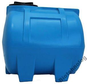 Бак, бочка, емкость 150 литров пищевая горизонтальная 100 200 G, фото 2