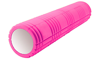 Ролик массажный 61 см FI-4941 (розовый)