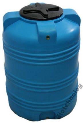 Бак, бочка, емкость 350 литров пищевая вертикальная 300 400 V, фото 2