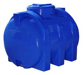 Емкость 500 литров бак, бочка пищевая двухслойная горизонтальная RGД, фото 2