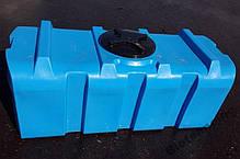 Емкость 500 литров бак, бочка, пищевая прямоугольная, крышка d 35 см SК, фото 3