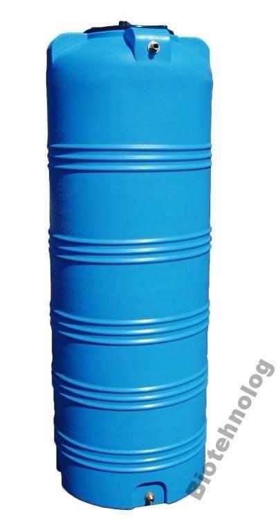 Емкость 750 литров бак, бочка пищевая узкая вертикальная 700 800 V