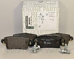 Дисковые тормозные колодки задние на Renault Master II  1998->2010 Renault (Оригинал) — 7701206763