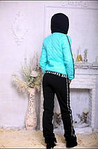 Женский синтепоневый костюм с плащевки и трехнити, фото 2