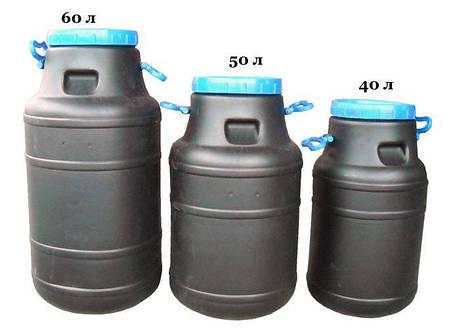 Бидон 100 литров не пищевой бак, бочка, емкость, фото 2