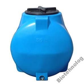 Бак, бочка, емкость 85 литров пищевая горизонтальная 75 80 90 G, фото 2