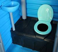 Бак, емкость 250 литров для туалетной кабины, биотуалета 300
