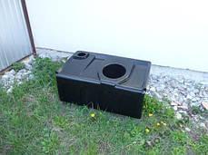 Бак, емкость 250 литров для туалета, биотуалета, унитаз 300, фото 2