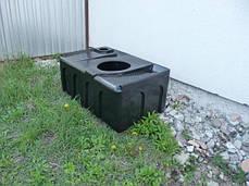 Бак, емкость 250 литров для туалета, биотуалета, унитаз 300, фото 3