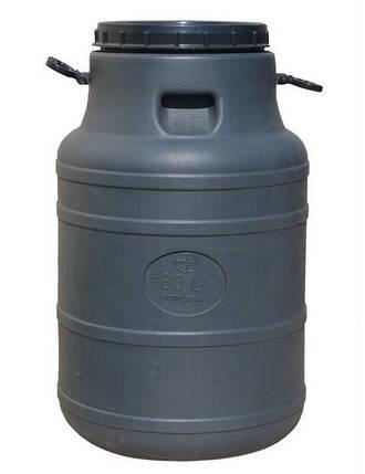 Бидон 80 литров не пищевой бак, бочка, емкость 100, фото 2