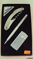 Набор ручка+зажигалка+нож